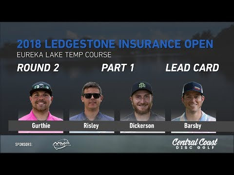 2018 Ledgestone Insurance Open Rd. 2 Pt. 1 (Gurthie, Risley, Dickerson, Barsby)
