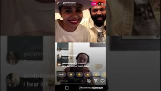 Austin Brown and Genevieve Jackson | Instagram Live | May 22 2020