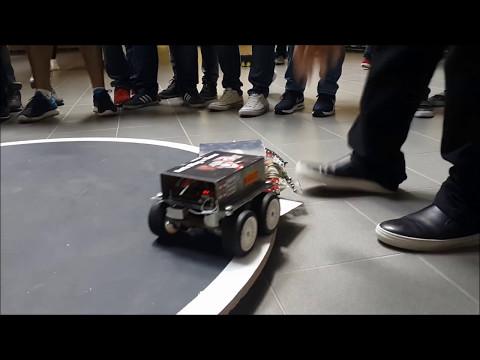 Autonomous Sumo Robot Competition - NDU, Lebanon
