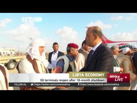 Oil terminals in Libya reopen after 18-month shutdown