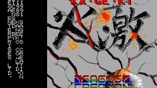 Mega Drive Longplay [371] Ka-Ge-Ki: Fists of Steel
