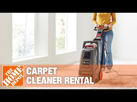 The Home Depot Tool Rental Center- Carpet Cleaners - YouTube