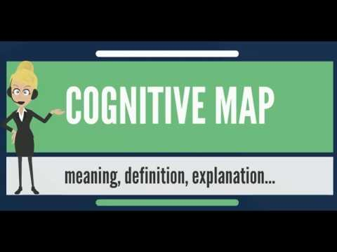 What is COGNITIVE MAP? What does COGNITIVE MAP mean? COGNITIVE MAP meaning, definition & explanation