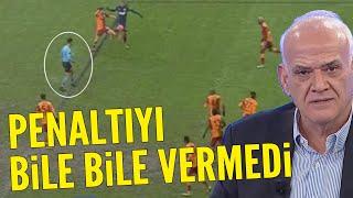 Galatasaray - Kasımpaşa maçında penaltı tartışması! Ahmet Çakar yorumladı