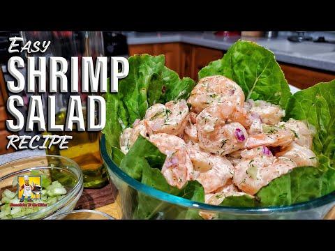 Easy Shrimp Salad Recipe | How to make Shrimp Salad