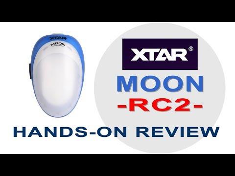 XTAR MOON RC2 Flashlight + Waist Pouch Review