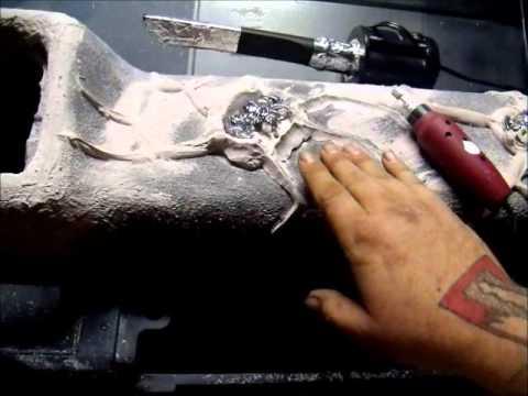 1981 Camaro Working On The Dash