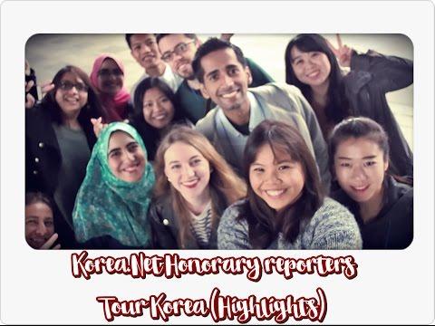 Touring Korea with Korea.Net Honorary Reporters (Highlights) + Be an honorary reporter