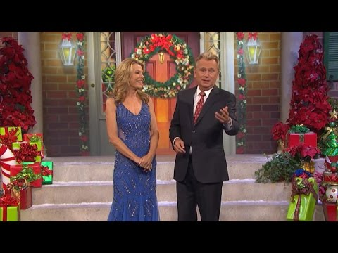 Uh-Oh! Vanna White's Dress Gets Caught During a Taping of 'Wheel of Fortune'