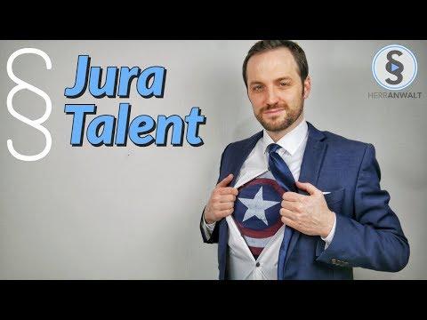 Das Jura Talent - 5 Gründe warum Jura perfekt für dich ist ! | Herr Anwalt