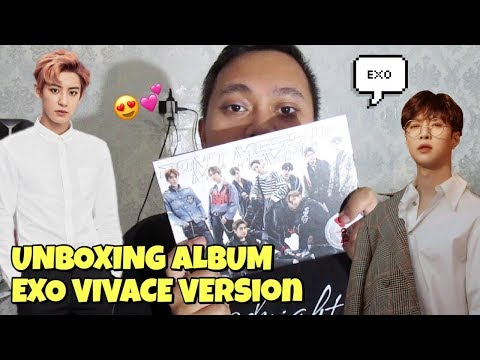 EXO DON'T MESS UP MY TEMPO VIVACE VERSION ALBUM UNBOXING [Bahasa Indonesia]