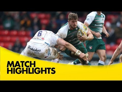 Leicester Tigers V Exeter Chiefs - Aviva Premiership 2015/16