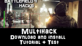 Battlefield 4 Aimbot hack ESP Menu Free download and install (2016)