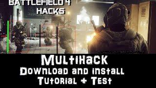 Battlefield 4 Aimbot hack ESP Menu Free download and install (2016)