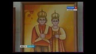 Выставка работ художницы Елены Лялиной «Свадебное..». 23.11.12