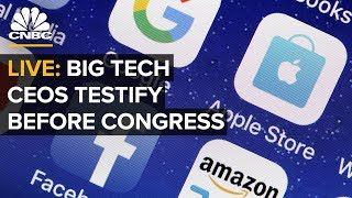 WATCH LIVE: Amazon, Apple, Facebook and Alphabet CEOs testify before Congress — 7/29/2020