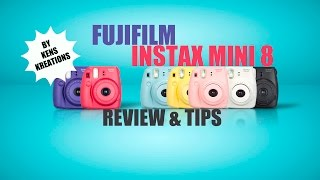 Fujifilm Instax Mini 8 Review & Tips