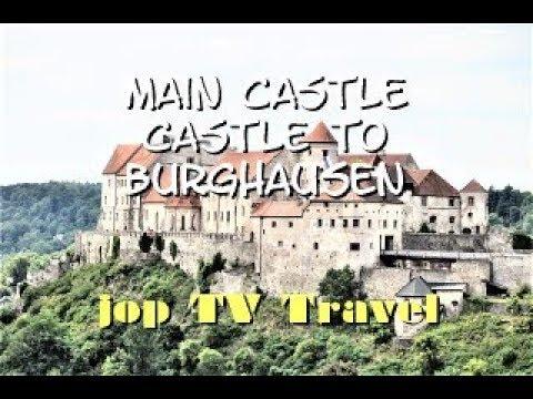 Visit The Main Castle Castle To Burghausen (Bavaria) Germany Travel Picture Book Jop TV Travel
