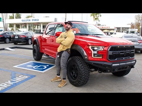 COLLECTING MY NEW FORD RAPTOR F-150!