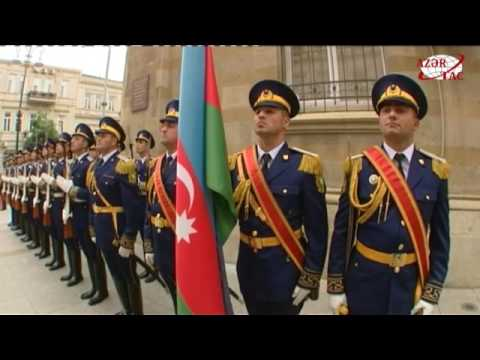 President Ilham Aliyev visited memorial in honor of Azerbaijan Democratic Republic
