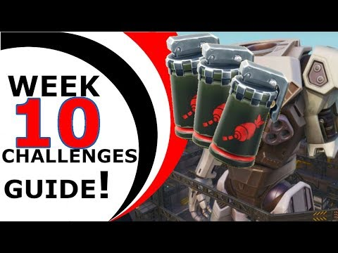 FORTNITE WEEK 10 CHALLENGES GUIDE - SEASON 9 - The LAST Challenges guide for the season!
