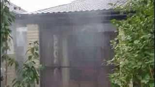 Охлаждение беседки(Охлаждение беседки система туманообразования высокого давления., 2013-03-20T19:14:22.000Z)