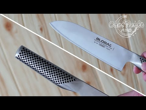 Global Santoku Knife Review - G46 Classic 18cm (7 inch)