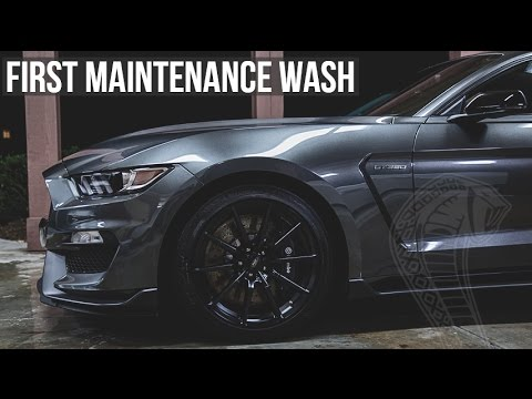 Dialing In My New Shelby GT350: E18 - Routine Washing & Drying Procedure