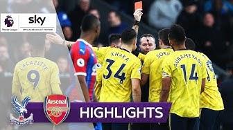 Aubameyang mit Horror-Foul | Crystal Palace - Arsenal 1:1 | Highlights - Premier League 2019/20
