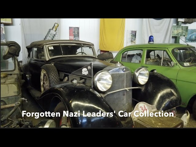 Forgotten Nazi Leaders' Car Collection