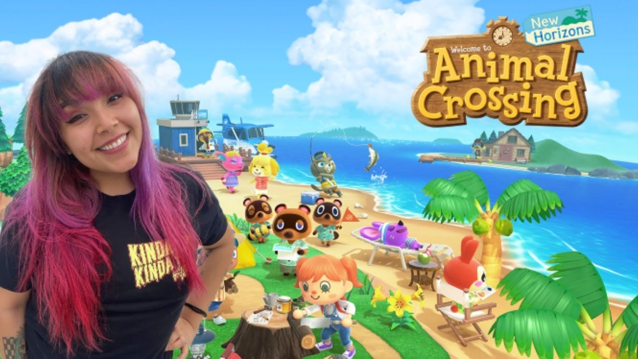 *NEW* Animal Crossing New Horizons! lets build a garden ...