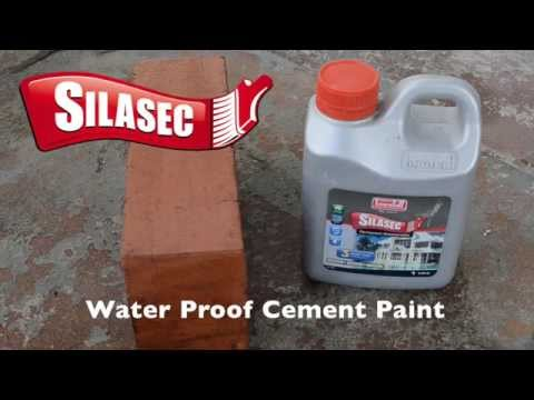 Silasec Water Proof Cement Paint