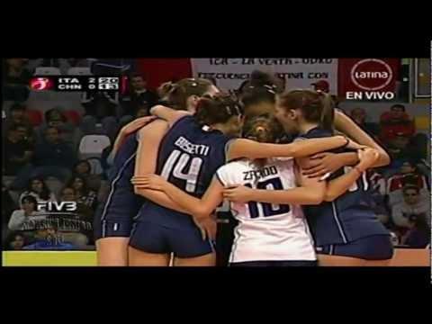 Italia x China 2,3set FIVB Women's Junior 2011