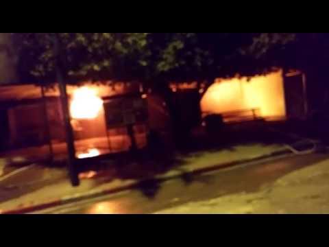 Mevo Choron shul fire 2 (via Media Resource Group)
