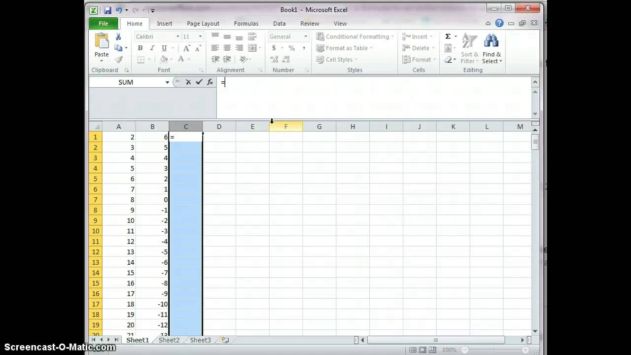 How to write a good application 0 in excel
