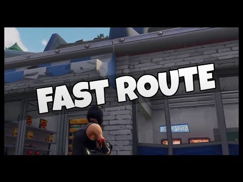 "Fortnite: Easy Route for ""Visit Gas Stations"" Challenge"