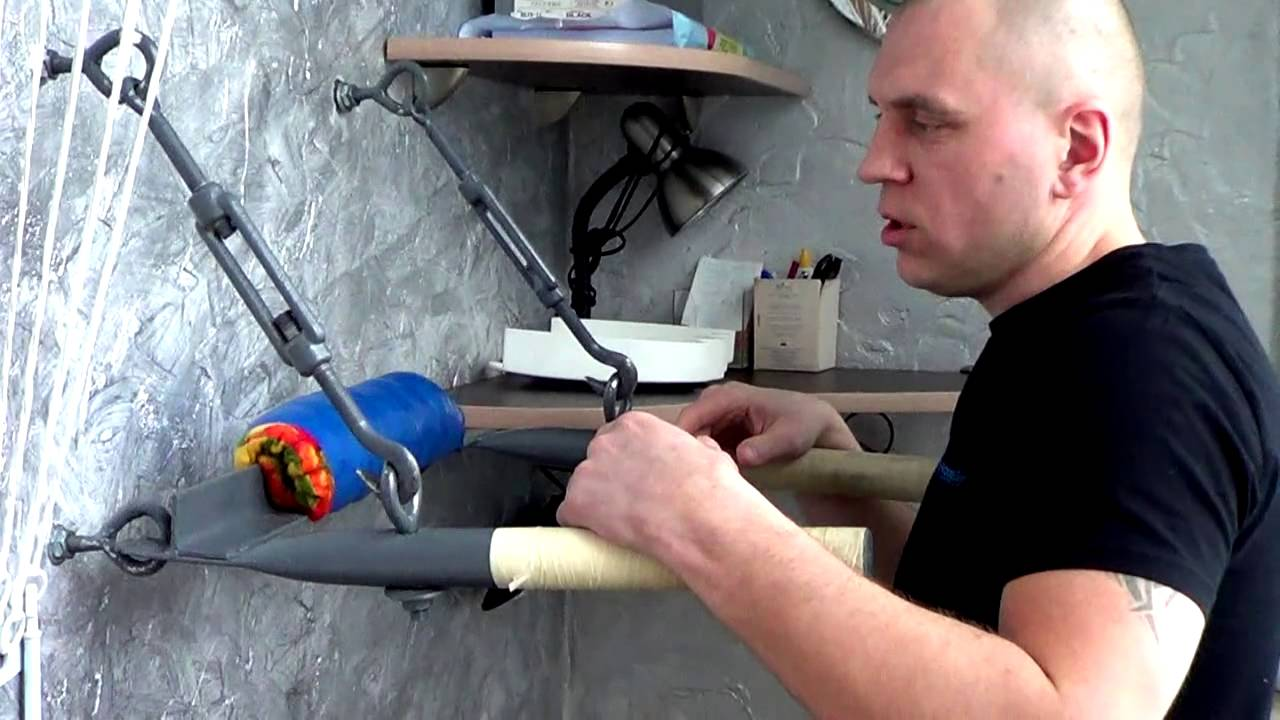 Как изготовить брусья в домашних условиях 75