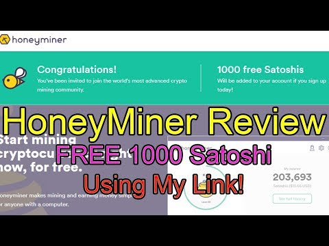 🤔Honeyminer Review | Even Grandma Can Start Mining! | Free Bitcoin