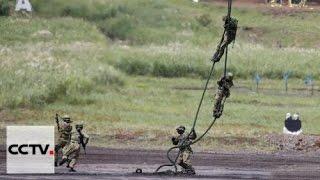 Первые совместные учения после вступления в силу закона по безопасности Японии
