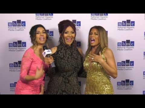 RaqC s Christina and Lisa Vidal at 2017 NHMC ImpactAwards