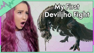 My First Fight with a Deviljho! - Monster Hunter World