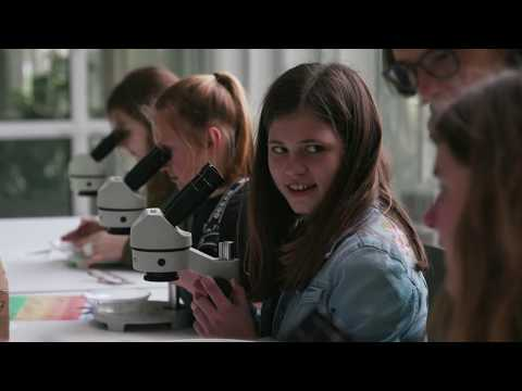 Neckarakteurin Katja Fleckenstein, UnserNeckar Girls`Day am Regierungspräsidium Tübingen