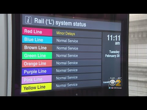 Why Are CTA's Train Lines Color-Coded?