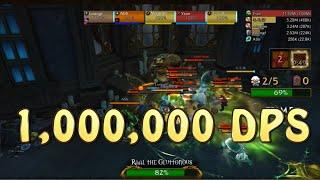 1 million 1000000 dps in mythic dungeon international mdi team d