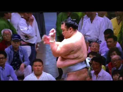 A bad thing about Sumo (Day 10 Hokutofuji match)