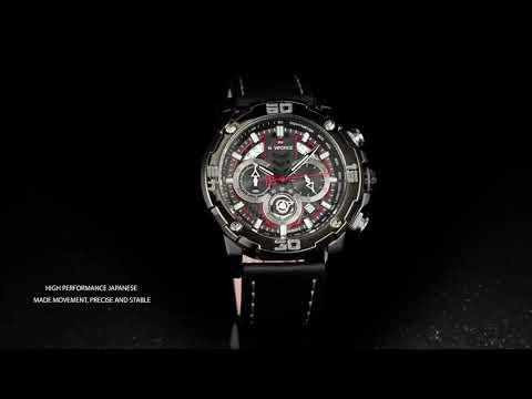 NF9175 BLACK NAVIFORCE Chistmas Pre Sales Men's Watch Sports Watch
