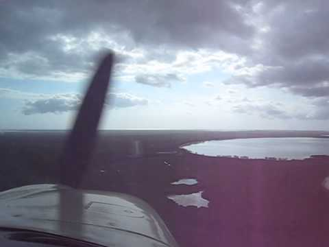 Landing At Colonel Hill Airport, Crooked Island  Bahamas In Mooney M20J