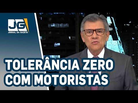 Rodolpho Gamberini / Tolerância zero com motorista bêbado que mata