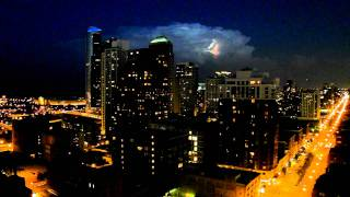Lightning Cloud over Chicago