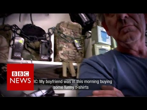 Thumbnail: Secret filming uncovers charity shop's anti-Islamic stock - BBC News